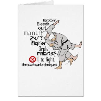 Martial ARts Card