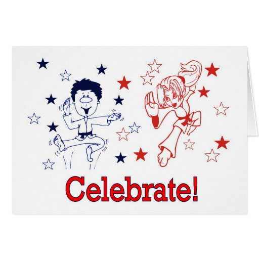 Martial Arts Ce;lebration Celebrate Invitations Greeting Card