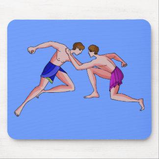 Martial arts champion 396 BC Mouse Pad