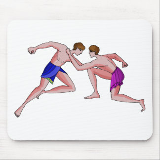 Martial arts champion 396 BC Mousepad