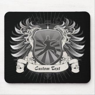 Martial Arts Crest Mouse Pad
