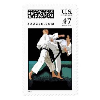 Martial Arts Customizable Stamp