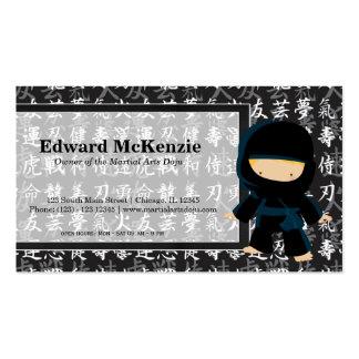 Martial Arts Doju Business Card Template