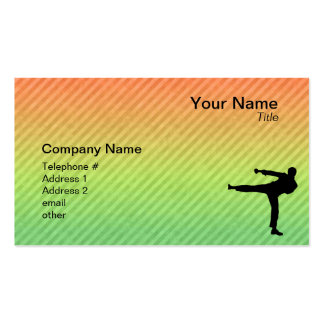 Martial Arts Double-Sided Standard Business Cards (Pack Of 100)