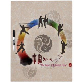 Martial Arts Dry Erase Board