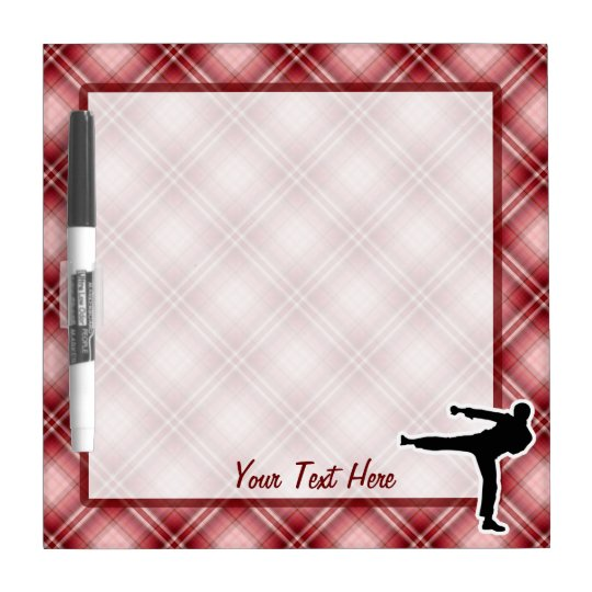 Martial Arts Dry-Erase Board