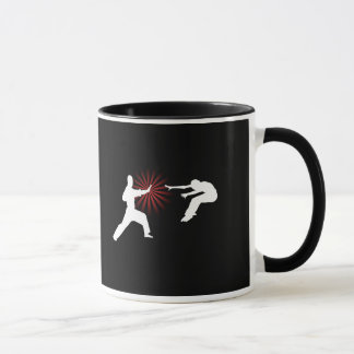 Martial Arts Energy Silhouette Mug