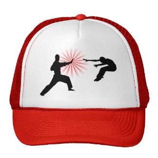 Martial Arts Energy Silhouette Trucker Hat