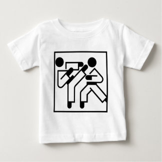 Martial Arts Figures Baby T-Shirt