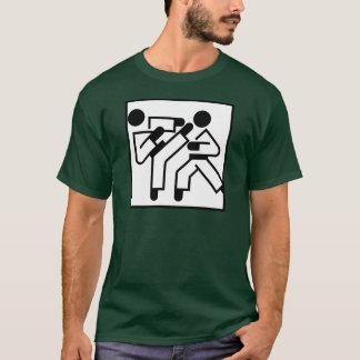 Martial Arts Figures T-Shirt