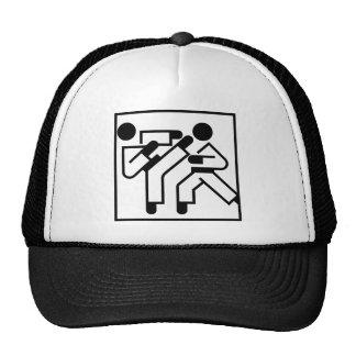 Martial Arts Figures Trucker Hat