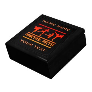 Martial Arts gift box, customize Trinket Boxes