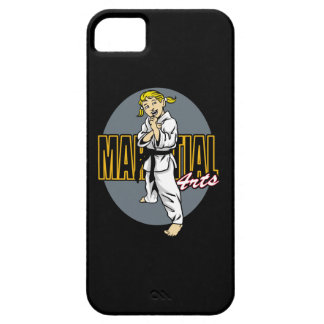 Martial Arts Girl iPhone SE/5/5s Case