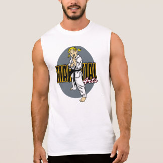 Martial Arts Girl Tee Shirt