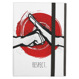 Martial Arts Greeting - White Cover For iPad Air