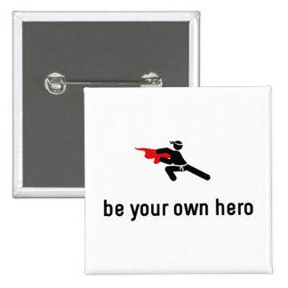 Martial Arts Hero Button