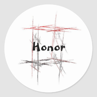 Martial Arts Honor Stickers