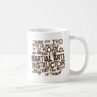 Martial Arts Instructor Gift Coffee Mug