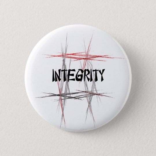 Martial Arts Integrity Button