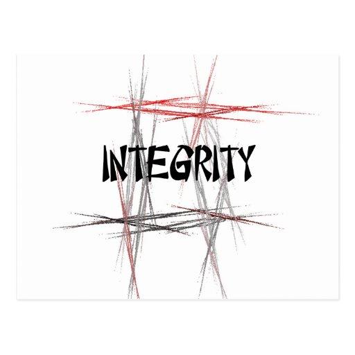 Martial Arts Integrity Postcards