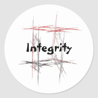 Martial Arts Integrity Stickers