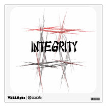 Martial Arts Integrity Wall Decal