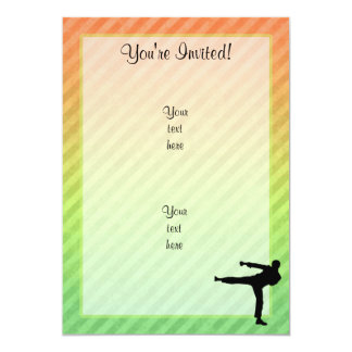 Martial Arts Custom Invitations