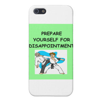 martial arts iPhone 5 covers