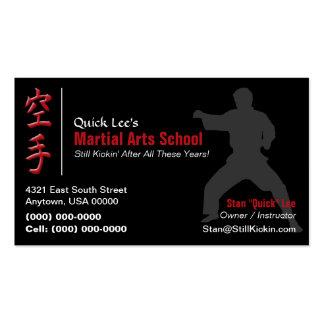 Martial Arts Karate Business Card