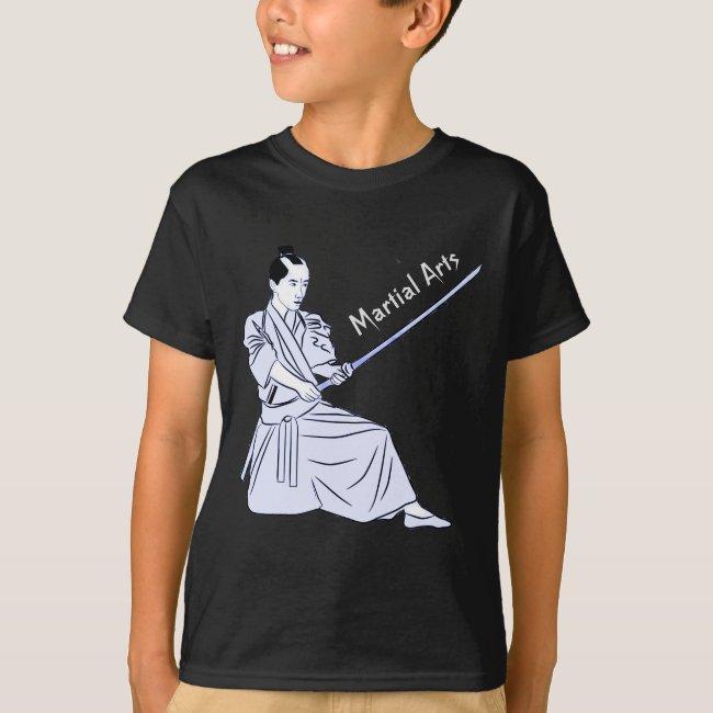 Martial Arts Kendo Sports Kids T-Shirt
