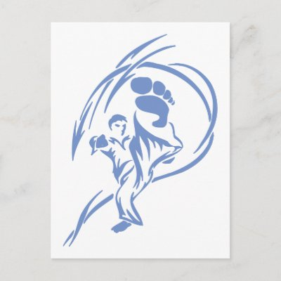 Martial Arts Tattoos on Tattoo Of A Man Executing A Martial Arts Kick Available On T Shirts