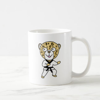Martial Arts Leopard Coffee Mug