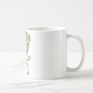 Martial Arts Leopard Mug