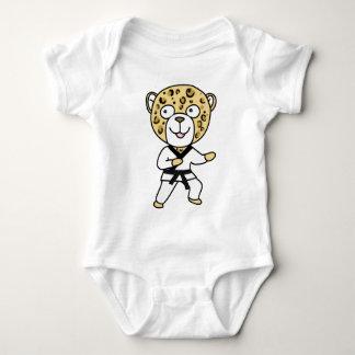 Martial Arts Leopard T Shirt
