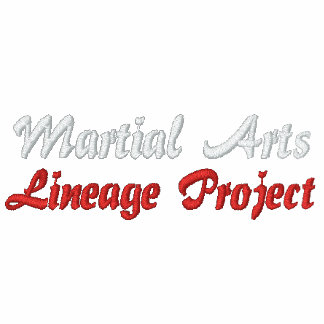 Martial Arts Lineage Project - Embroidered Shirt