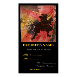 Martial Arts Musashi Business Card