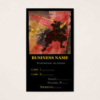 Martial Arts Musashi Business Card