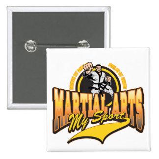 Martial Arts My Sport Button