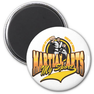Martial Arts My Sport Fridge Magnet