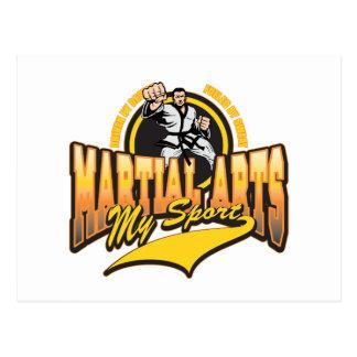 Martial Arts My Sport Postcard