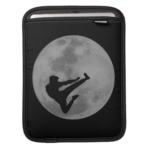 Martial Arts Ninja Moon iPad Sleeves