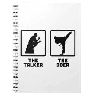 Martial Arts Notebook