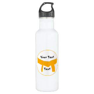 Martial Arts Orange Belt Water Bottle