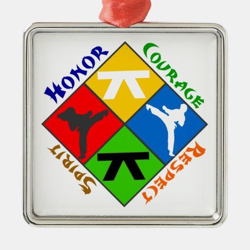 Martial Arts Ornament