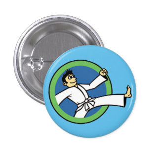 Martial Arts Party Kid 3 Button