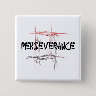 Martial Arts Perseverance Button