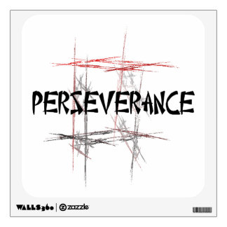 Martial Arts Perseverance Room Sticker