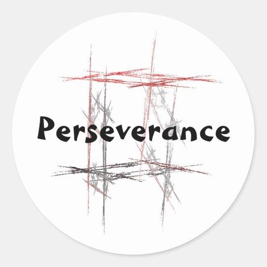 Martial Arts Perseverance Stickers