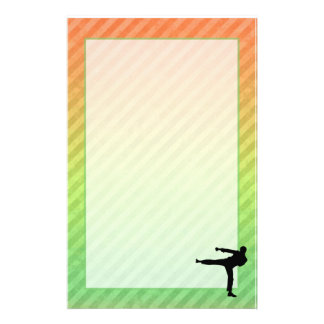 Martial Arts Personalized Stationery