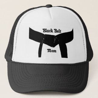 Martial Arts Plain Black Belt Mom Hat